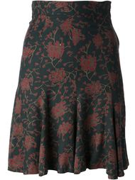 юбка в цветок Biba Vintage