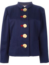 куртка с крупными пуговицами Yves Saint Laurent Vintage