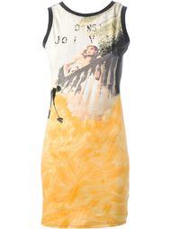 платье с принтом 'La Concierge Est Dans l'Escalier' Jean Paul Gaultier Vintage