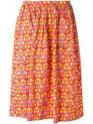 юбка с принтом  Céline Vintage