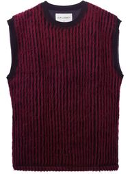 свитер в полоску без рукавов Our Legacy