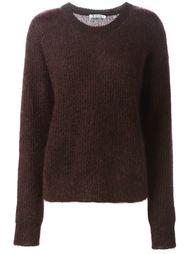 свитер ребристой вязки T By Alexander Wang