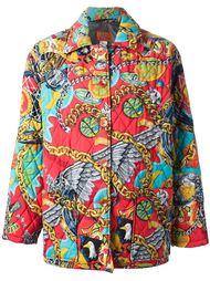 стёганое пальто 'Jungle Kenzo' Kenzo Vintage
