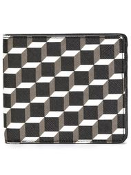 кошелёк с кубическим принтом Pierre Hardy
