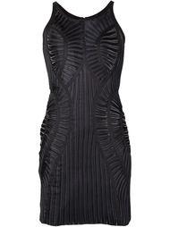 облегающее плиссированное платье Iris Van Herpen