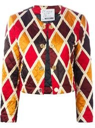 укороченный пиджак 'Harlequin'  Moschino Vintage