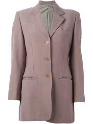 пиджак с застежкой на три пуговицы Romeo Gigli Vintage