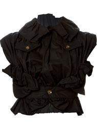 куртка без рукавов с оборкой  Comme Des Garçons Vintage