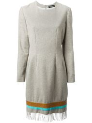 платье с бахромой Jean Louis Scherrer Vintage