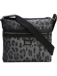 сумка с леопардовым принтом на плечо Dolce & Gabbana
