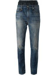 зауженные к низу джинсы R13