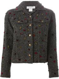 куртка с аппликацией в горошек  Christian Dior Vintage