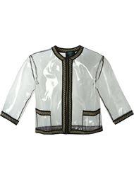 куртка с контрастной окантовкой Jean Paul Gaultier Vintage