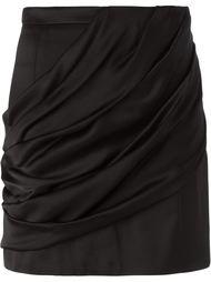 драпированная мини-юбка Balmain