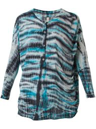 рубашка с принтом тай-дай Raquel Allegra