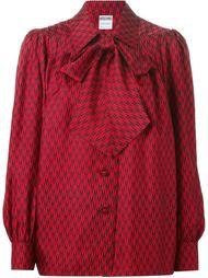 блузка в клетку  Moschino Vintage