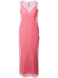 макси-платье вязаное крючком Ermanno Scervino