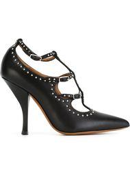 туфли с ремешками и заклепками Givenchy