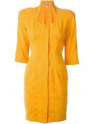 платье с воротником-стойкой Thierry Mugler Vintage