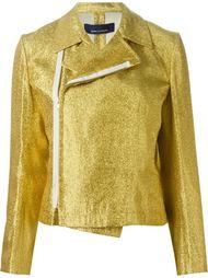 байкерская куртка с отливом Comme Des Garçons Vintage