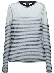 прозрачная футболка с длинными рукавами Jean Paul Gaultier Vintage