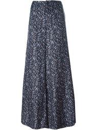 широкие брюки с цветочным узором Derek Lam 10 Crosby