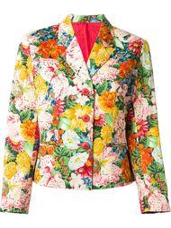 пиджак в цветочный принт  Kenzo Vintage