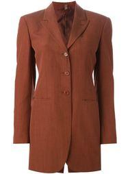удлиненный классический пиджак Romeo Gigli Vintage