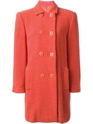 двубортное пальто  Stephen Sprouse Vintage