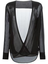плиссированная блузка  Ermanno Scervino