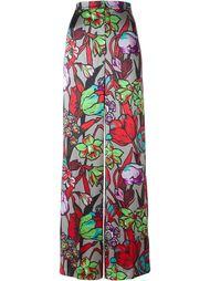 широкие брюки с цветочным принтом Duro Olowu