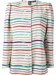 полосатая куртка Emanuel Ungaro Vintage
