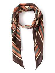 полосатый шарф Biba Vintage