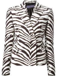 куртка с зебровым узором Emanuel Ungaro