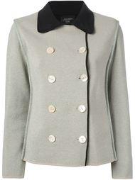 куртка букле с контрастным воротом Jean Paul Gaultier Vintage