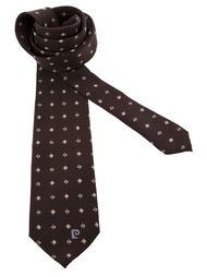 галстук в ромбик Pierre Cardin Vintage