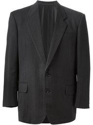 свободный пиджак в полоску  Comme Des Garçons Vintage