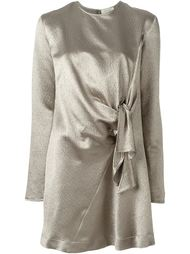 платье-шифт с узлом спереди Isa Arfen