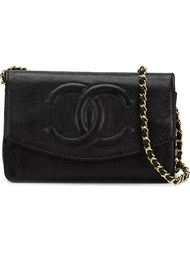 сумка через плечо с логотипом CC Chanel Vintage