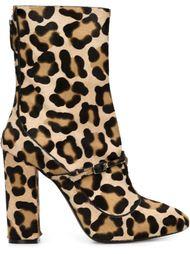сапоги с леопардовым принтом Nº21