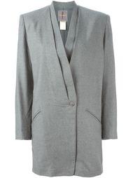 драпированный пиджак Issey Miyake Vintage
