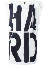 футболка с принтом Hard Gareth Pugh