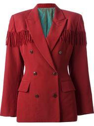 пиджак с бахромой  Jean Paul Gaultier Vintage