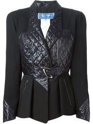 пиджак с стегаными панелями Thierry Mugler Vintage