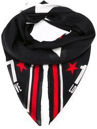 платок с принтом в звезды Givenchy