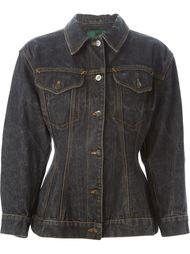 приталенная джинсовая куртка Jean Paul Gaultier Vintage