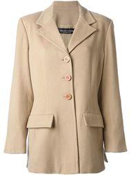 приталенный пиджак в стиле 90-ых Jean Louis Scherrer Vintage