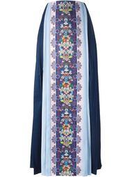 длинная плиссированная юбка  Mary Katrantzou X Adidas Originals