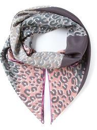 шарф в леопардовый принт  Louis Vuitton Vintage
