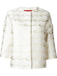 куртка с принтом Moncler Gamme Rouge